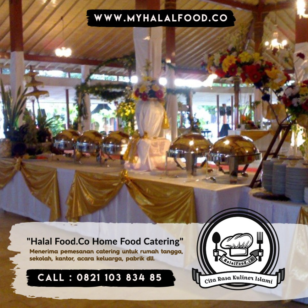 katering prasmanan Daerah Villa Kartini dan Sekitar Bekasi