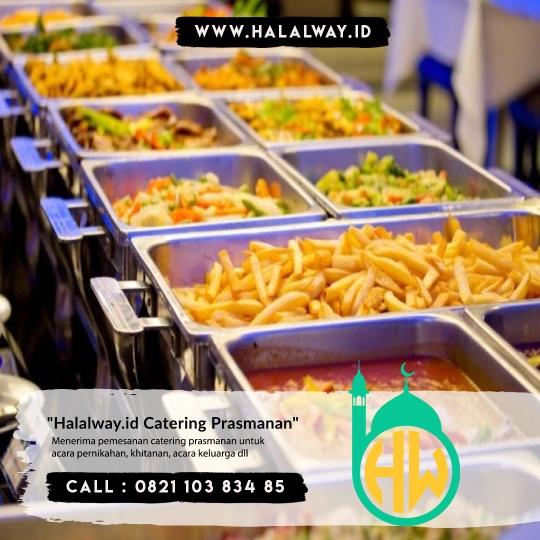 Catering Wedding Harga Terjangkau di Summarecon | Halal Way
