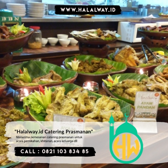 Catering Wedding Harga Terjangkau Wilayah Villa Kartini